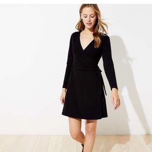 Loft Wrap Dress - medium
